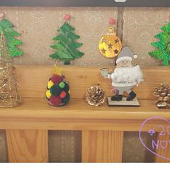 枕元/子供のベット/ベットにクリスマス雑貨/Merry X'mas/クリスマス雑貨/メリークリスマス/... 今日も素敵な一日になりますように(♥Ü♥…