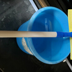 年末の大掃除/窓ガラス掃除/取り外し/落下/2階の窓/モップ/... 大掃除の為に買った 窓掃除用の ワイパー…