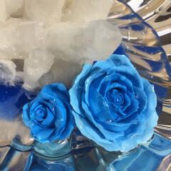 ハンドメイド/リミアの冬暮らし こちら、シルバーのお皿に水晶を置いて、絵…(3枚目)