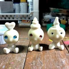 作家/オリジナル/粘土細工/粘土造形/お正月2020/【PR】LIMIAcamp/... 小物類を作ります! キーホルダーにしよう…