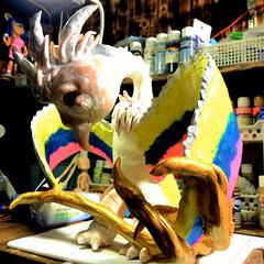 オーダーメイド/アーティスト/LIMIAベスト収納2019/クリスマス2019/リミアの冬暮らし/ダイソー/... 極楽鳥から インスピレーションもらって …