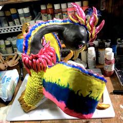 """フォロワー大募集/アーティスト/オーダーメイド/LIMIAベスト収納2019/クリスマス2019/リミアの冬暮らし/... """"この子"""" なかなか仕上がりに満足 して…"""