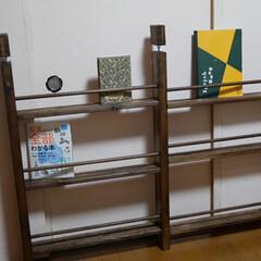 絵本棚DIY/本棚/DIY/収納/ハンドメイド/住まい 絵本棚  息子夫婦からの頼まれもの キッ…