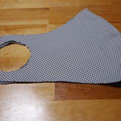 自作/クール/マスク/簡単 マスク 第3弾  クールタイプの布地を使…
