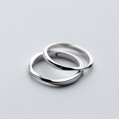 ペアリング シルバー/お揃い/結婚指輪/マリッジリング/ペアリング/彼氏/... ペアリング シルバー 指輪 2個セット …