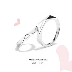 ペアネックレス/カップル/カップルお揃い/カップルペアリング/結婚指輪 ペアネックレス カップル シルバー925…