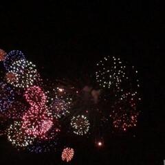 無印良品 昨夜、近くのお隣県の延期になってた花火大…
