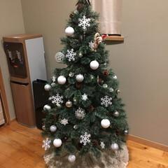ラコレ/フランフラン/クリスマス/クリスマスツリー/スリーコインズ/クリスマス2019/... 今年は150センチの松ぼっくり付ツリーを…(1枚目)