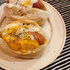 ブルーノ トースターグリル BRUNO Toaster Grill | BRUNO(その他キッチン、台所用品)を使ったクチコミ「2020.04.13 朝ごはんは、BRU…」