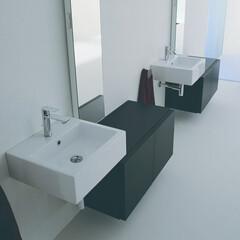 セラトレーディング/洗面/洗面ボウル/インテリア/新築/マイホーム 上質な空間をつくる引き算のデザイン。 イ…