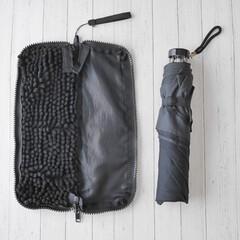 山崎産業/かさ収納/susu/傘カバー/機能的/梅雨対策/... 【便利な傘ケース】  思った以上に防水効…