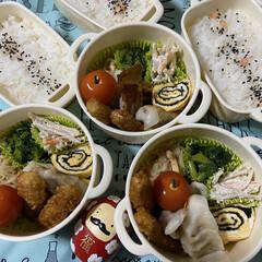 お弁当 お弁当3日分♫いっきにpostしちゃう😅(2枚目)