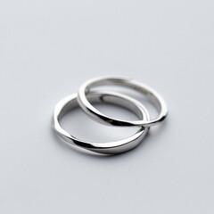 ペアリング/指輪/カップル/お揃い/結婚指輪/マリッジリング/... ペアリング シルバー 指輪 2個セット …