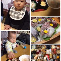 おせち/三重県志摩市浜島町/初めての家族旅行/お正月2020 新年早々鼻風邪だったいっちゃん💦元気に新…