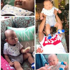 明日で11ヶ月/赤ちゃん/ハワイアン風/パンケーキ🥞/コナズ珈琲/わたしのごはん 皆さん こんにちは(╹◡╹)♡ なかなか…