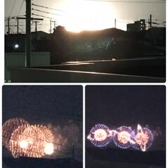 花火/ニトリ 8月1日 今日は大阪府の PLの花火🎆🎇…