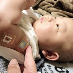 4ヶ月/赤ちゃん 昨日は いつき予防接種でした( ´∀`)…