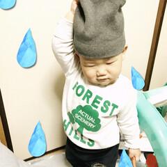 嫌がる帽子/1歳5ヵ月/桜🌸 おはようございます(*´ー`*)皆さんお…(2枚目)
