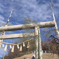 お正月2020 近所の土地神様に初詣。釣鐘は100年以上…