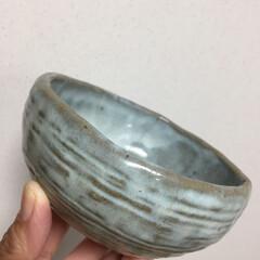 陶器/お茶碗/雑貨/ハンドメイド 昔、家族で作ったお茶碗 今はもうこれしか…