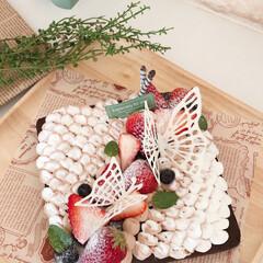 お菓子作り/ケーキ作り/ケーキ/おうち時間/おうちスイーツ/スイーツ作り/... 子供からリクエストされたガトーショコラ🍫…