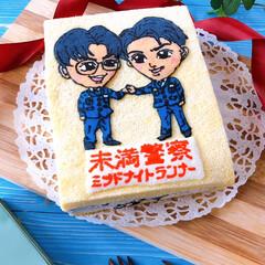 デコケーキ/クッキー/cake/似顔絵ケーキ/お菓子作り/ケーキ/... 毎週土曜日のお楽しみ🎶 ミッドナイトラン…