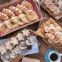 マーブルチョコ/惣菜パン/Homemade/パン/パン作り/手作りパン/... 久しぶりのパン作り~🥖🍞🥐🥞🍔🌭 やり出…