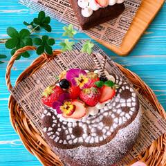 お菓子作り/おうちおやつ/カフェ/チョコレート/LIMIAスイーツ同好会/LIMIAスイーツ愛好会/... またまたガトーショコラですみません😅 G…
