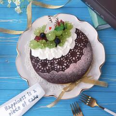 スイーツ作り/手作りお菓子/おうちカフェ/cake/Homemade/チョコレート/... ちょっとお久しぶりのガトーショコラ🍫 息…