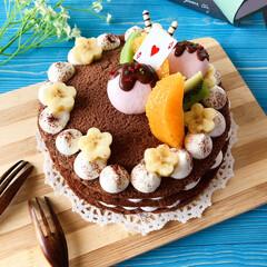 ネイキッドケーキ/デコレーションケーキ/スイーツ作り/LIMIAスイーツ愛好会/手作りケーキ/おやつ/... この間作ったケーキ。 ネイキッドケーキ💗…