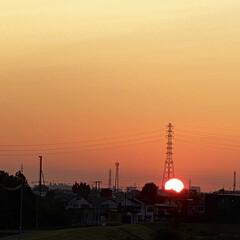 一日のはじまり/日の出を見られて/よかった♪ おはよぅございます‼︎ 日の出🌅を見るこ…