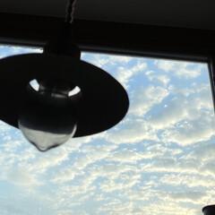 まど窓/晴れた空/やっぱりいぃな/暮らし おはようございます‼︎  雨予報は未だ未…