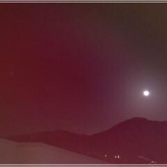 浄化日/スノームーン/満月 今日は満月🌕「スノームーン亅お家の窓から…(2枚目)