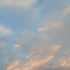 福山の空 今の夕焼け🎵