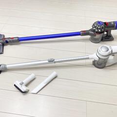 ダイソン 掃除機 コードレス Dyson V7 Fluffy SV11FF2   ダイソン(掃除機)を使ったクチコミ「APOSENの掃除機をサブ用として購入し…」(2枚目)