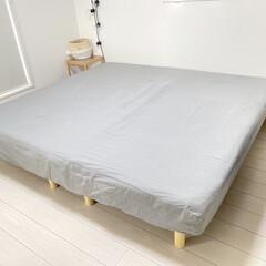 寝室インテリア/ベッドルームインテリア/ベッドルーム/シンプルな暮らし/寝室/モノトーンインテリア/... 今日は早起きをしたので、 ベッドシーツを…