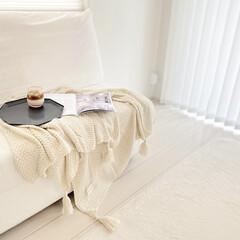 Francfranc/IKEA/海外インテリアに憧れる/インテリア/リビングインテリア/リビング/... リビングpic📷 夏用のブランケットを新…