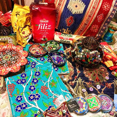 トルコ/トルコランプ/オヤ/トルコタイル ムスメが卒業旅行で行ったトルコのお土産た…