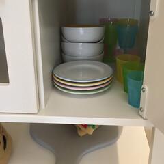 おもちゃ収納/キッズスペース/おままごとキッチン/IKEA購入品/IKEA/おままごと おままごとキッチンの 付属品もたくさん購…(2枚目)