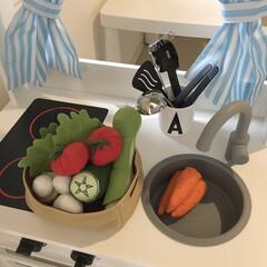 おもちゃ/おままごと/おままごとキッチン/IKEA購入品/IKEA IKEAはおままごとの食べ物も豊富✨  …