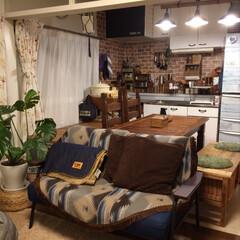照明/ソファー/インテリア/雑貨/DIY/家具/... ソファーと照明を新調したので部屋の模様替…(1枚目)
