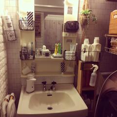 洗面台リメイク/DIY/ダイソー/セリア/インテリア 我が家の洗面台☆  (1枚目)