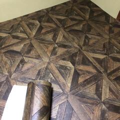 DIY/床 畳にクッションフロアを敷きました 6畳サ…