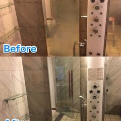 ハウスクリーニング/お風呂/浴室/ウロコ汚れ/鏡/クリーニング/... こんにちは♪ 東京/神奈川のハウスクリー…