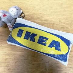 自己満/可愛い/中学生/ペンケース/IKEA 娘's ペンケース!  久しぶりのハンド…