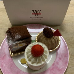 ヴィタメール/自己満足/チョコケーキ/いちごケーキ/モンブラン/ケーキ 久しぶりのヴィタメール。 お上品な味でど…