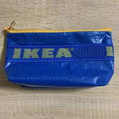 オススメ/可愛い/自己満/IKEA/ハンドメイド/ペンケース/... 第2弾! 今回はマチとポケットを付けてみ…