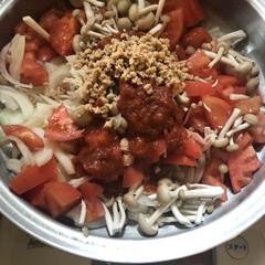 無水鍋/時短料理/お鍋1つ 長年愛用の無水鍋で無水カレー作りました。…