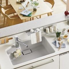 住まい/リフォーム/住宅設備/リノベーション/水回りリフォーム/キッチン/... おしゃれで開放感がある対面キッチンに憧れ…