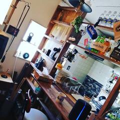 DIY/kitchen/ラジコン/LABRICO/NITORI/セリア/... 築20年のアパートのKitchenに 間…
